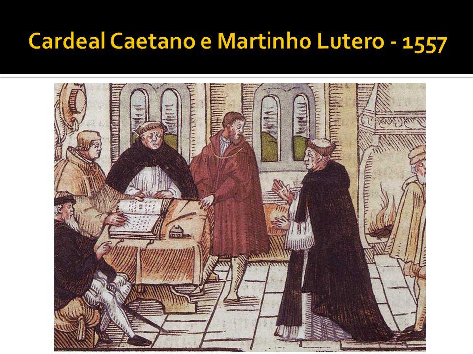 Numa viagem a Roma Martinho se decepcionou muito com a Igreja Católica pela venda indiscriminada de Indulgências e o distanciamento dos princípios iniciais da fé cristã.