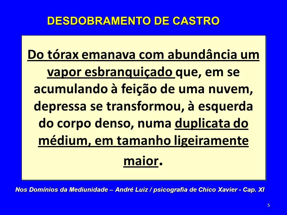 Morre e se decompõe; Serve de intermediário entre o corpo físico e o perispiritual (astral/psicossoma); Fornece os elementos do ectoplasma.