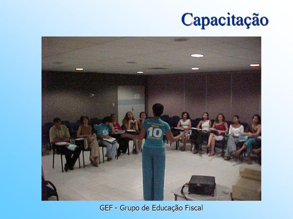 GEF - Grupo de Educação Fiscal Capacitação