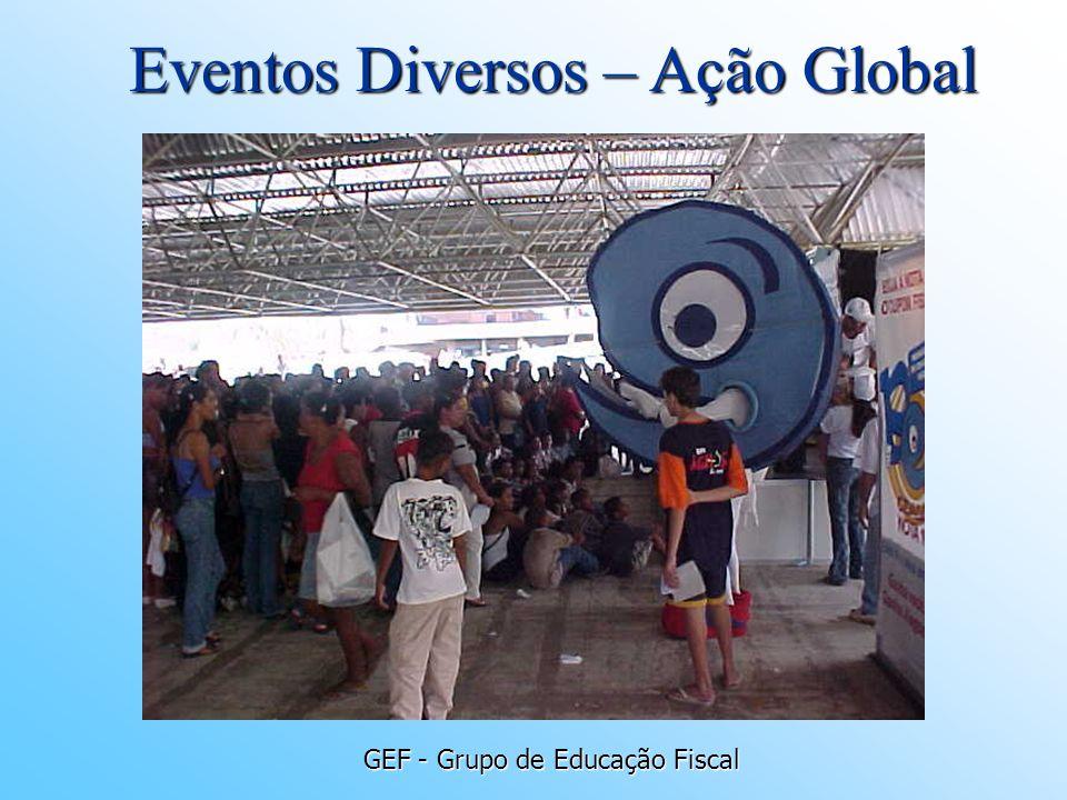 GEF - Grupo de Educação Fiscal Eventos Diversos – Ação Global