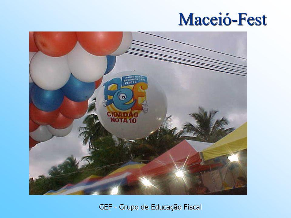 GEF - Grupo de Educação Fiscal Maceió-Fest