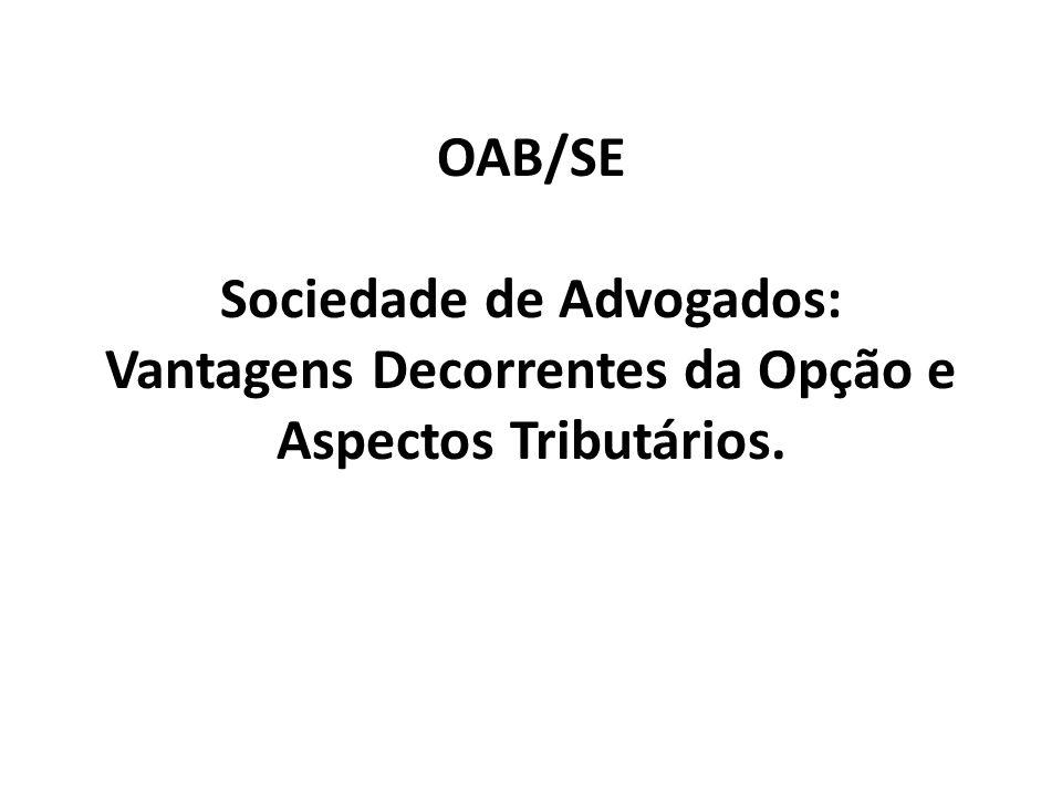 TRIBUTAÇÃO DO ADVOGADO AUTÔNOMO - ISSQN
