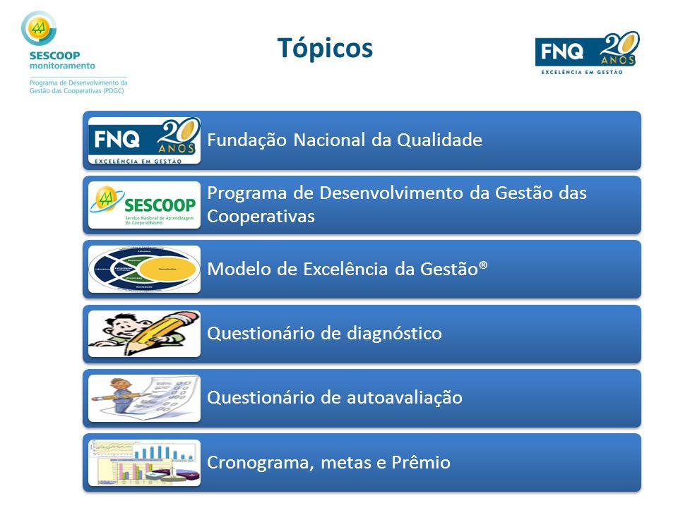Divisão das questões – Bloco Gestão Critérios do MEG® Número de questões Liderança8 Estratégias e planos5 Clientes5 Sociedade3 Informações e conhecimento3 Pessoas5 Processos6 Resultados8