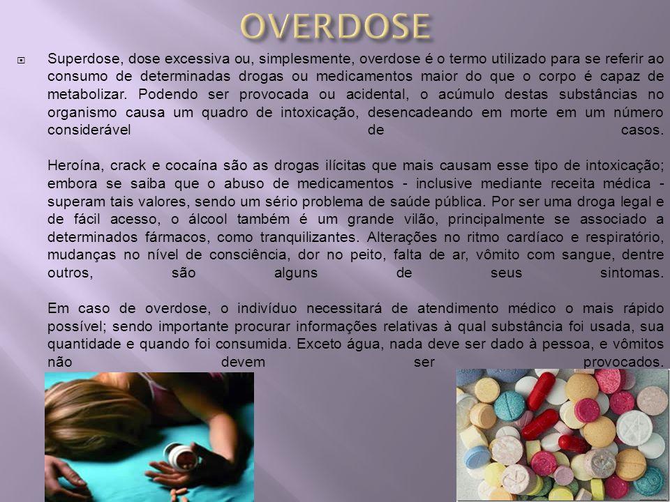 Superdose, dose excessiva ou, simplesmente, overdose é o termo utilizado para se referir ao consumo de determinadas drogas ou medicamentos maior do qu