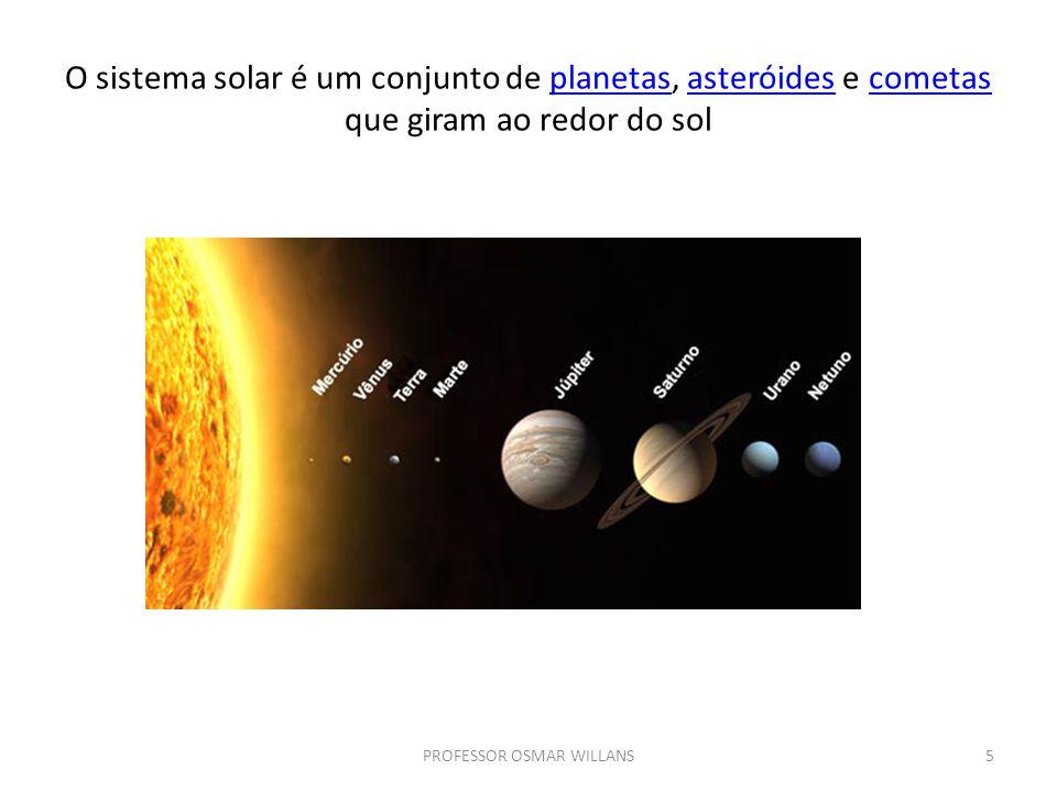 Teorias afirmam que os planetas também foram formados a partir de porções de massa muito quente e que todos estão de resfriando.