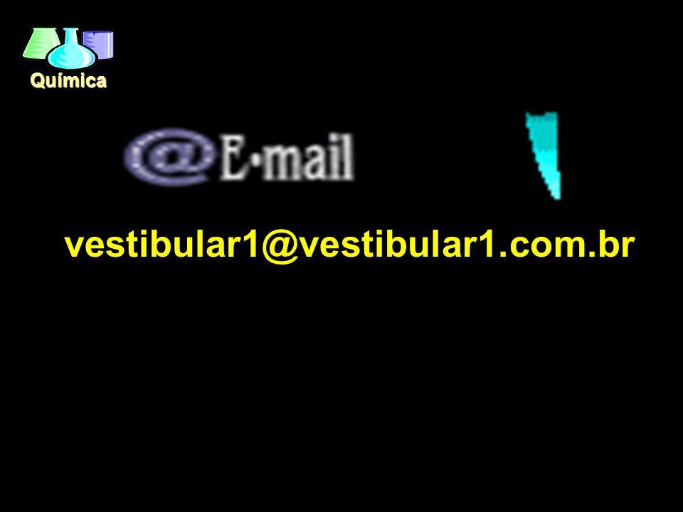 Química vestibular1@vestibular1.com.br