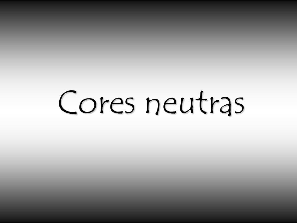 Cores neutras