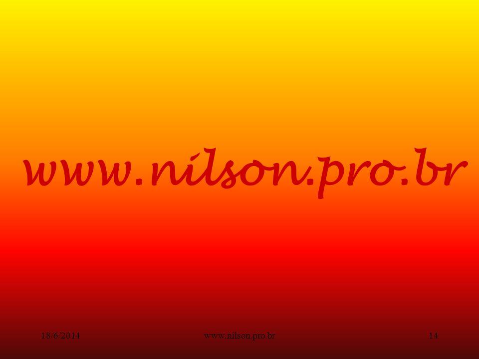 www.nilson.pro.br13 As etapas do processo de compra.