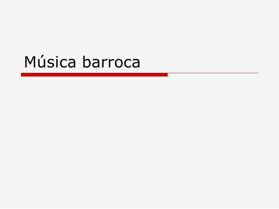 Música barroca
