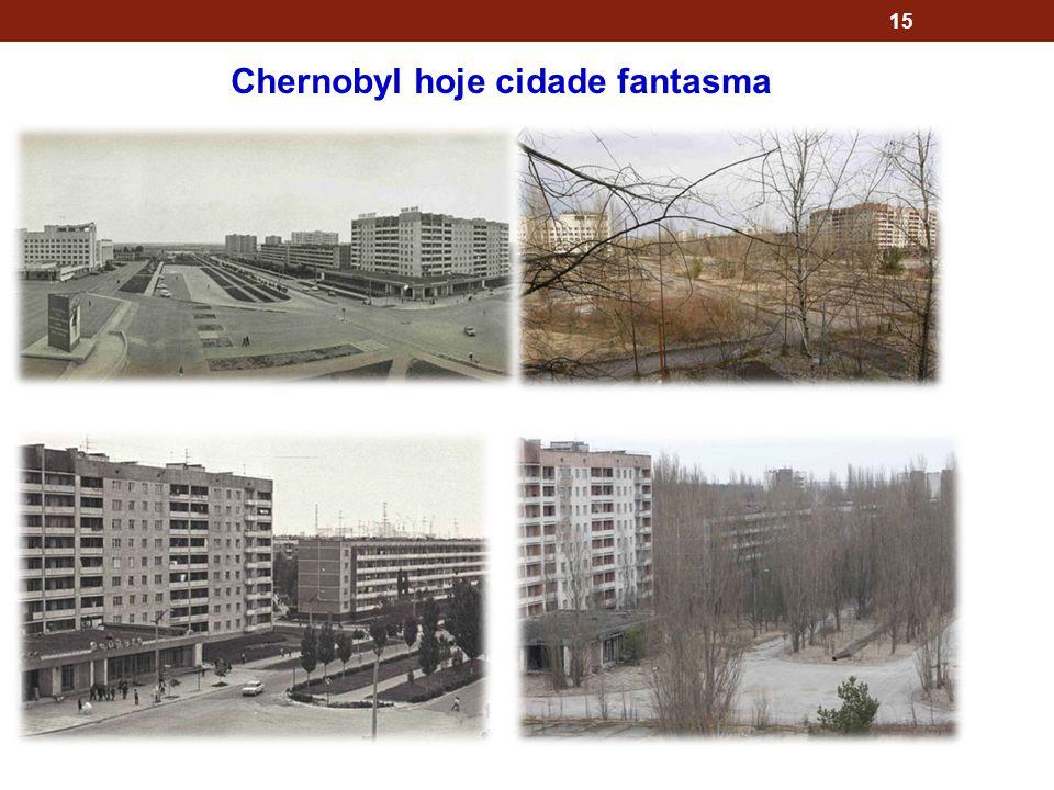 15 Chernobyl hoje cidade fantasma