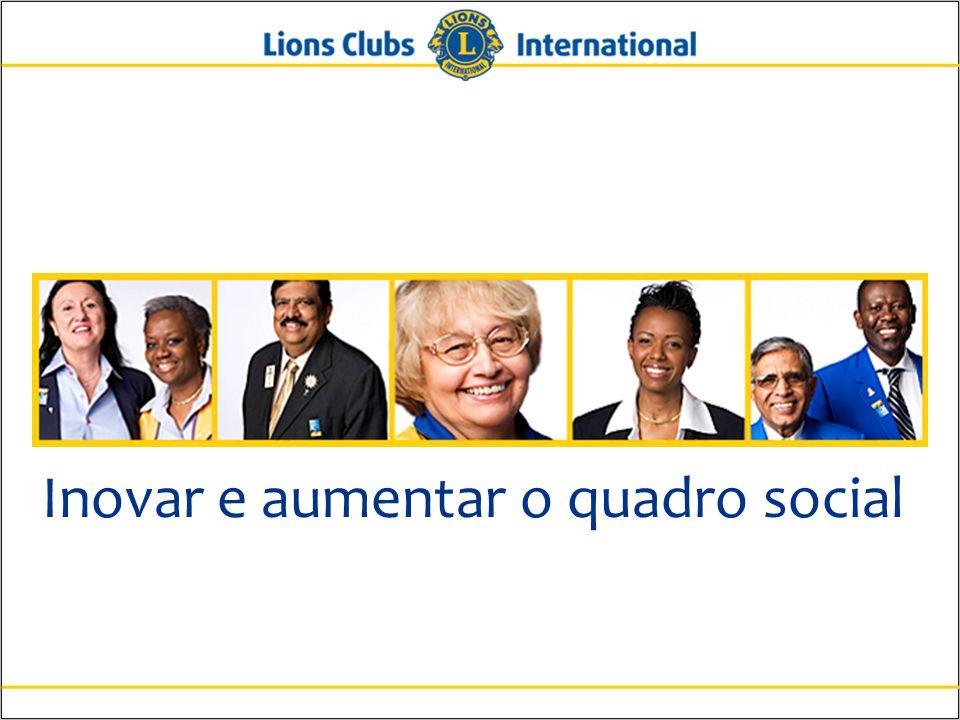 14 Lions Clubs International A Importância da Extensão Permitir que os sócios estabeleçam um cultura distinta para o clube