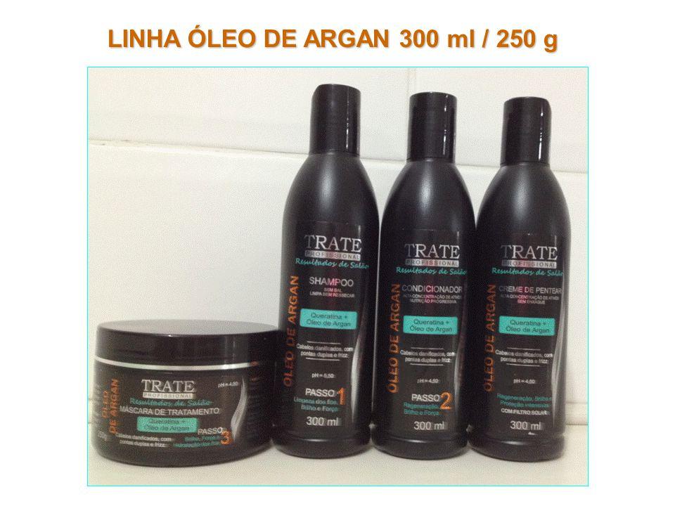 LINHA ÓLEO DE ARGAN 300 ml / 250 g