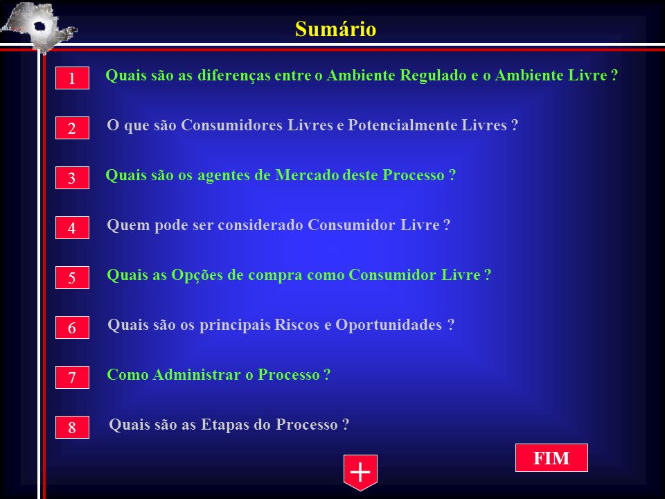 7 – Como Administrar o Processo .