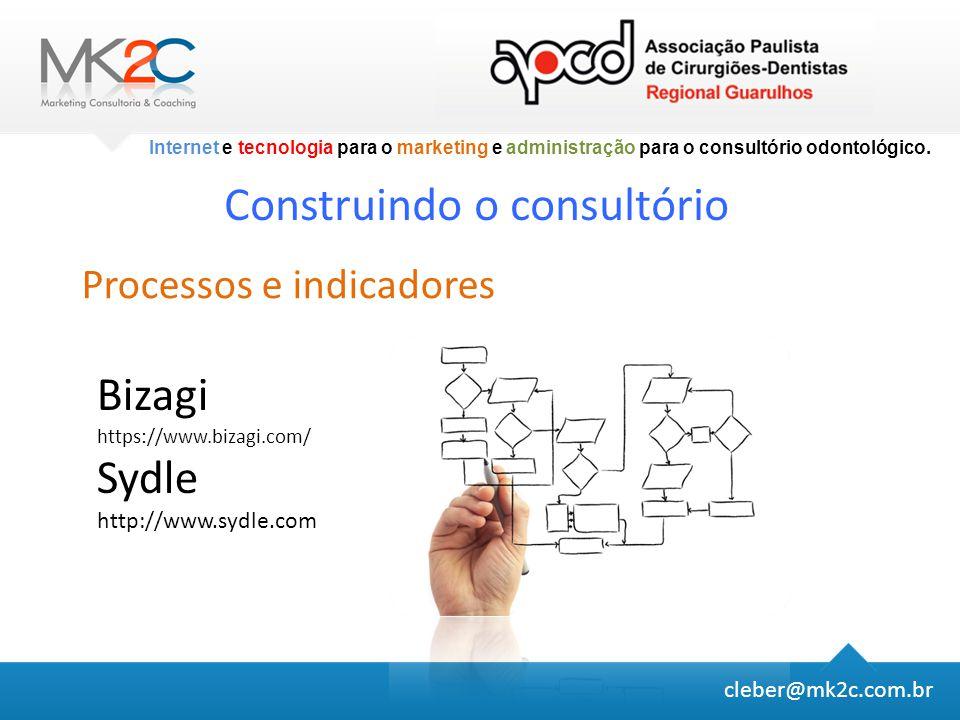 Internet e tecnologia para o marketing e administração para o consultório odontológico.