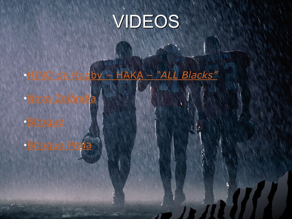 VIDEOS HINO de Rugby – HAKA – ALL Blacks HINO de Rugby – HAKA – ALL Blacks Nova Zelândia Bitoque Bitoque Praia