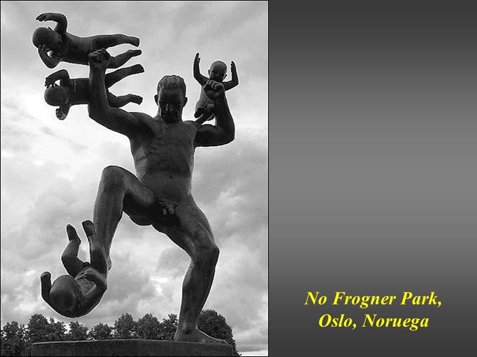 No Frogner Park, Oslo, Noruega
