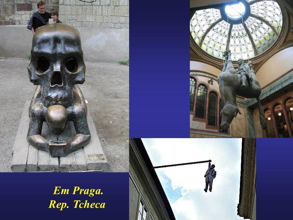 Em Praga. Rep. Tcheca