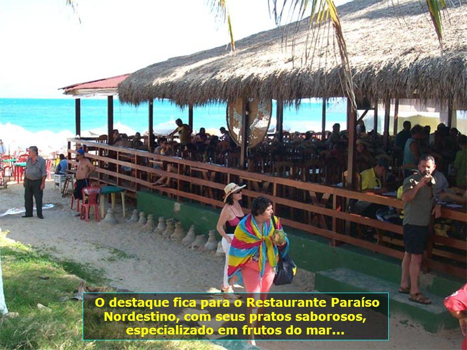 Localizada a 15 km de Maceió, a Praia do Francês oferece variadas opções de diversões e passeios, como ultra-leve, banana-boat, mini- motos. Aqui tem