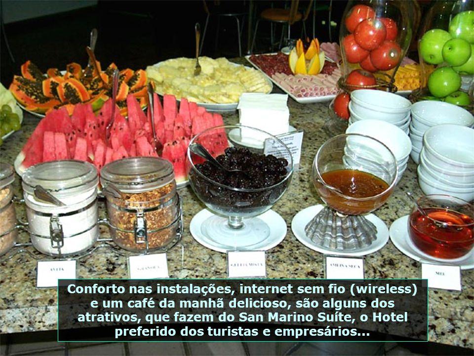 Requinte, conforto, romantismo e um atendimento sem igual – assim é o San Marino Suíte Hotel, de Maceió, com um serviço de primeira qualidade...