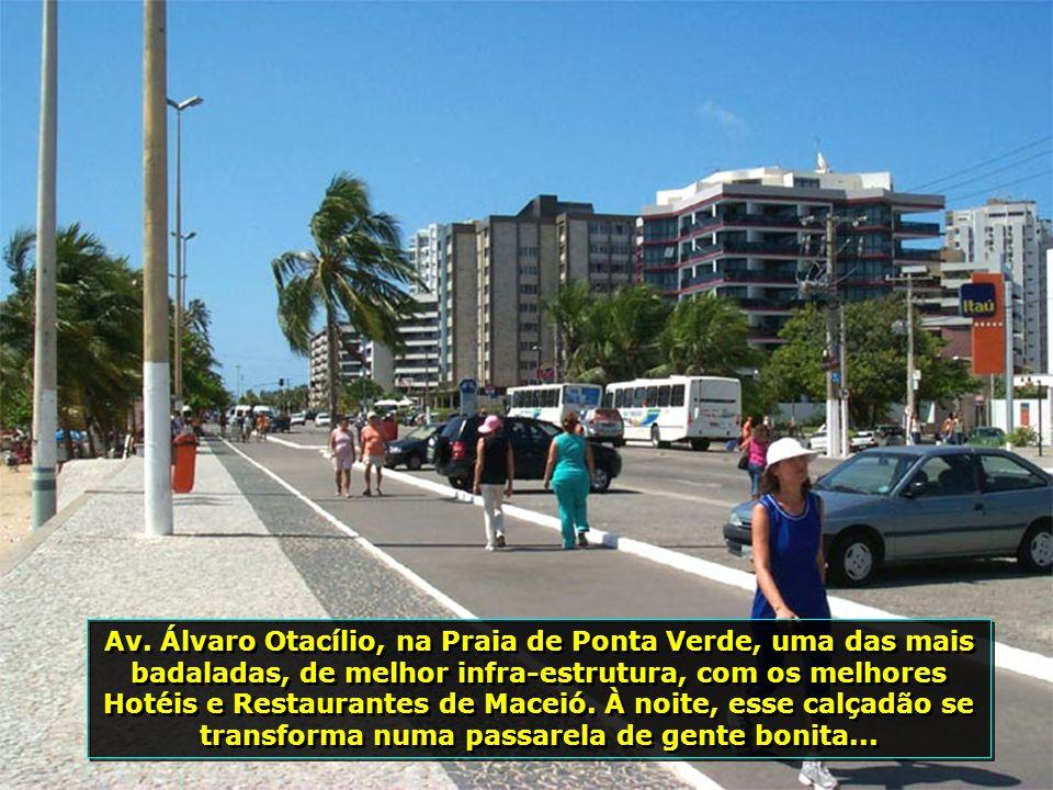 O Mirante de São Gonçalo do Amarante, no Bairro do Farol, proporciona uma visão deslumbrante da cidade e do mar...