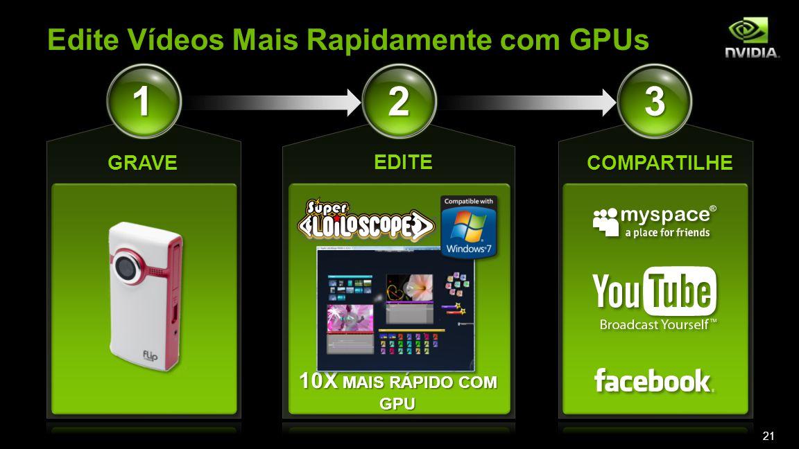 Edite Vídeos Mais Rapidamente com GPUs 10X MAIS RÁPIDO COM GPU 21