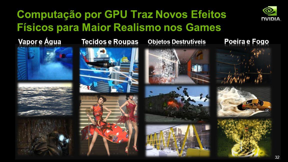 Computação por GPU Traz Novos Efeitos Físicos para Maior Realismo nos Games 32