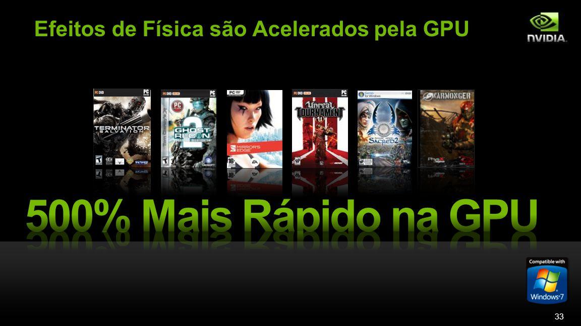 Efeitos de Física são Acelerados pela GPU 33
