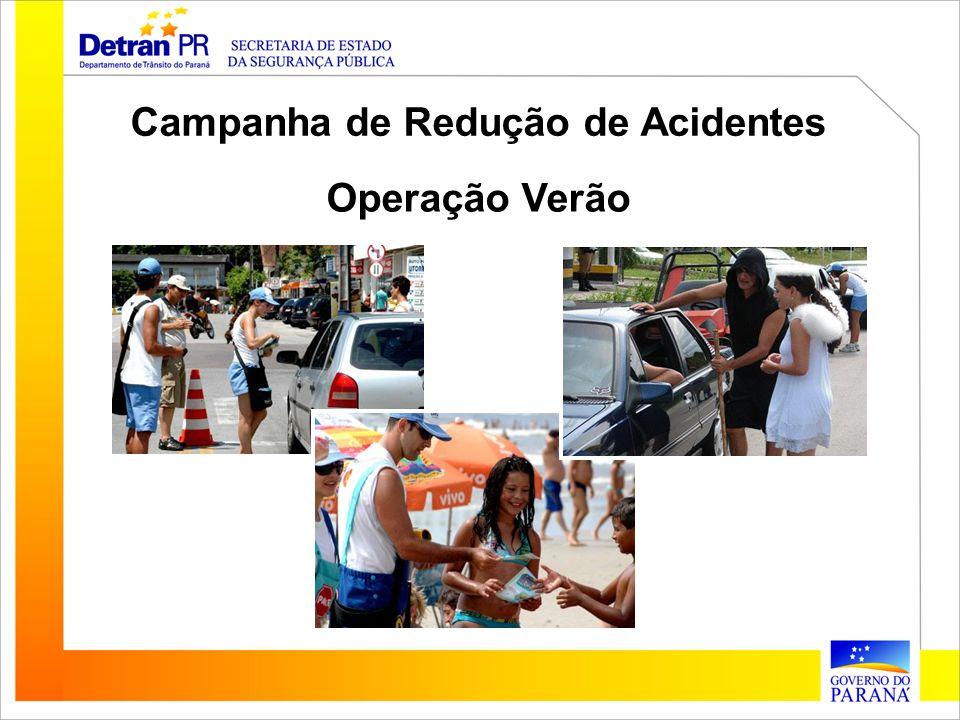 Campanha de Redução de Acidentes Operação Verão
