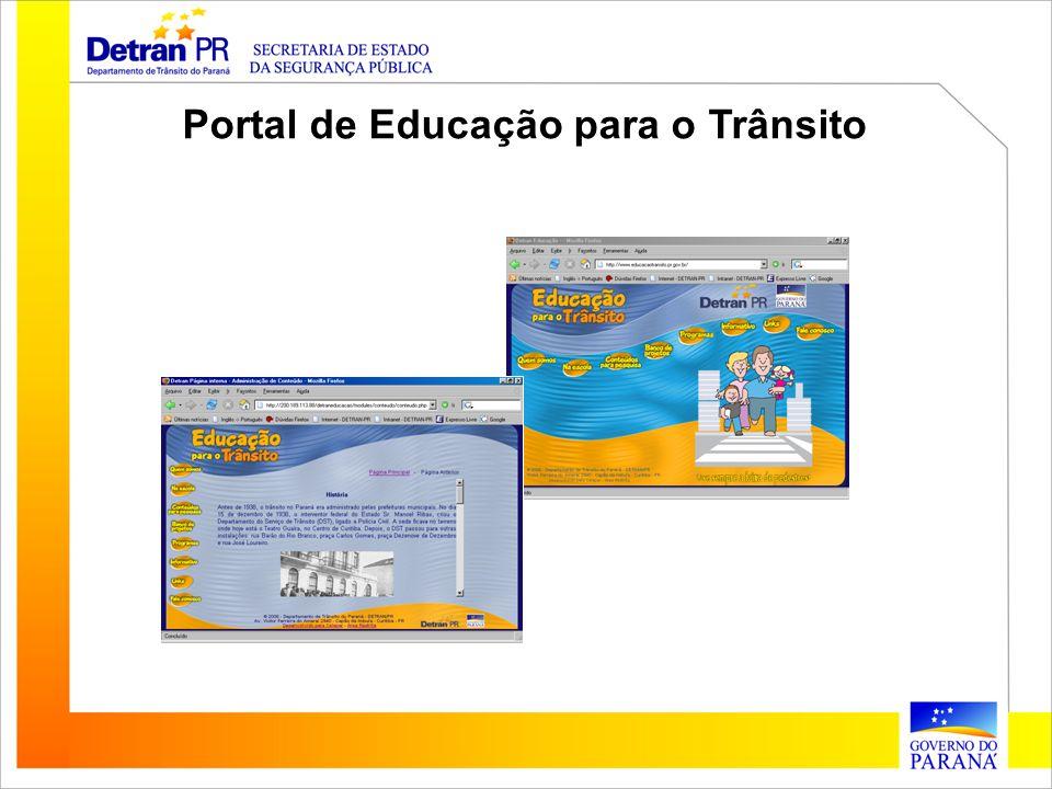 Portal de Educação para o Trânsito