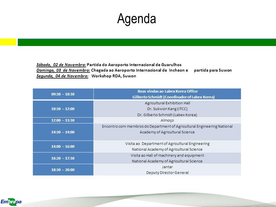 Agenda: visita RDA