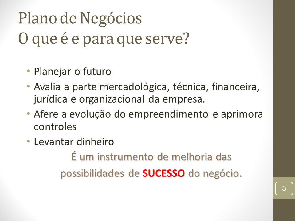 3 Planejar o futuro Avalia a parte mercadológica, técnica, financeira, jurídica e organizacional da empresa.