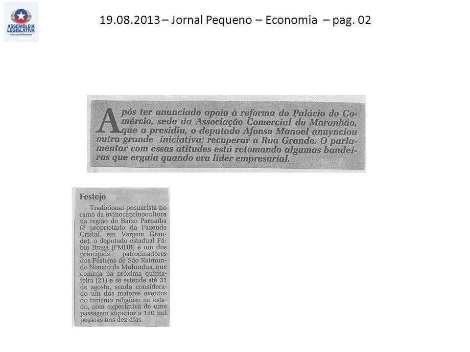 19.08.2013 – O Imparcial – Política – pag. 03