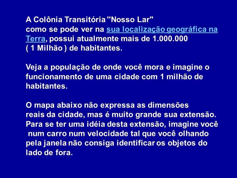 A colônia espiritual Nosso Lar, situada nas proximidades do Rio de Janeiro, é bem conhecida dos espíritas brasileiros.