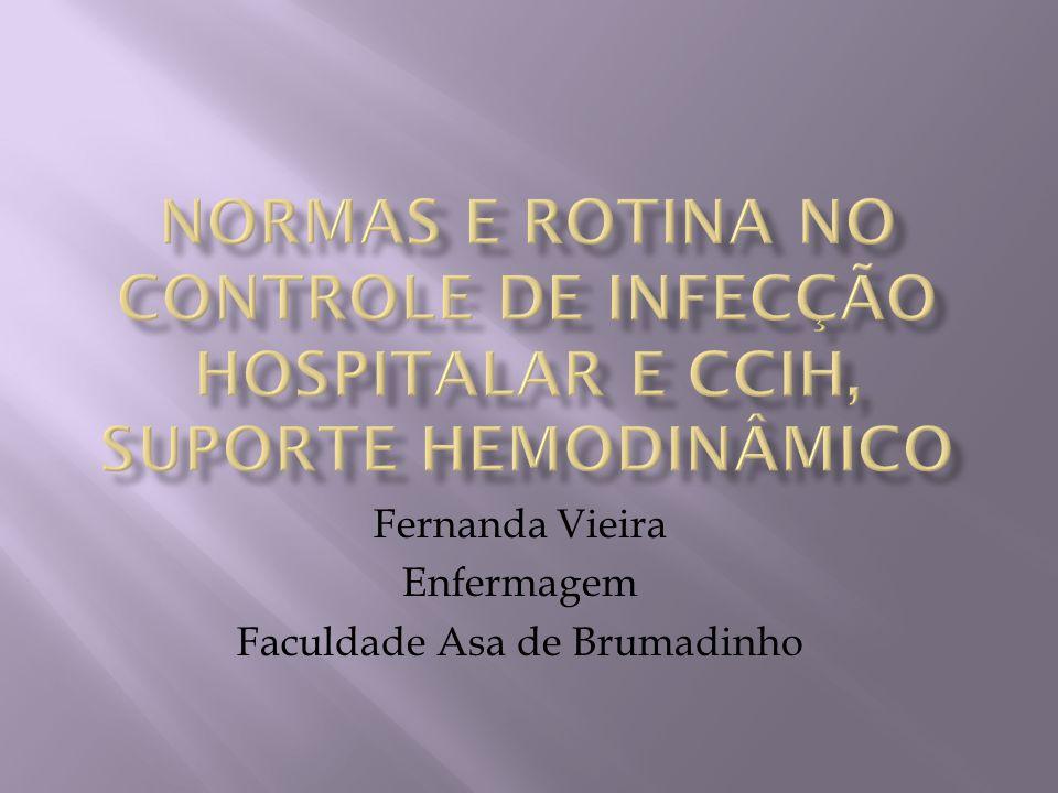 Outros profissionais do hospital também devem participar da CCIH.