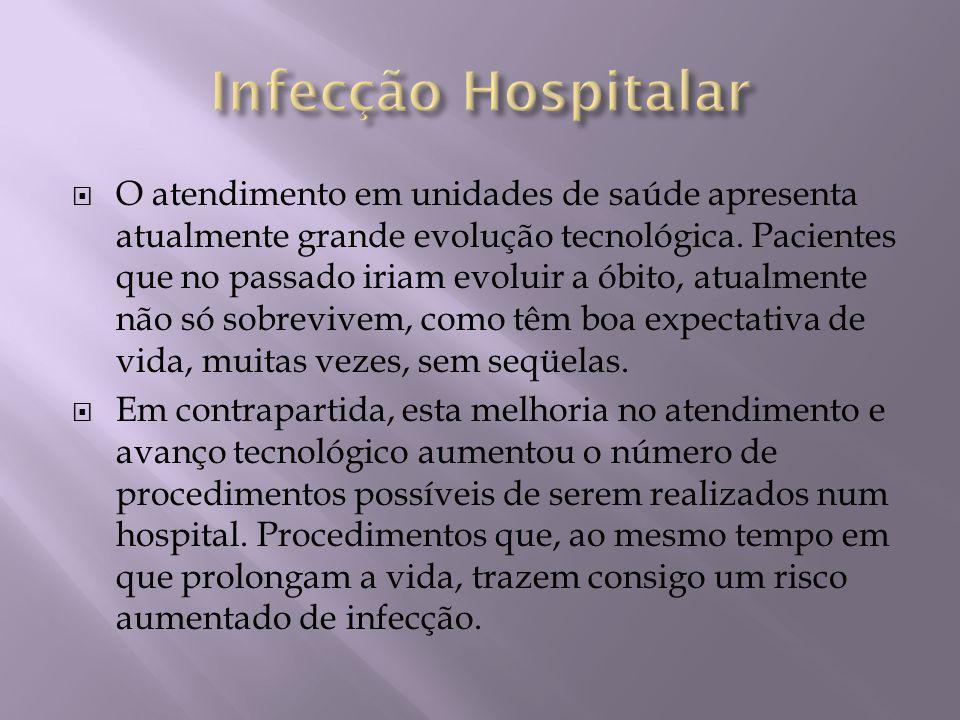 O atendimento em unidades de saúde apresenta atualmente grande evolução tecnológica. Pacientes que no passado iriam evoluir a óbito, atualmente não só