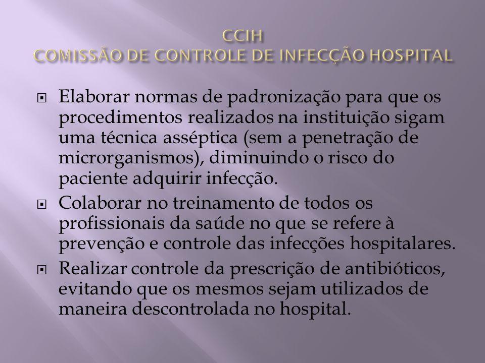 Recomendar as medidas de isolamento de doenças transmissíveis, quando se trata de pacientes hospitalizados.