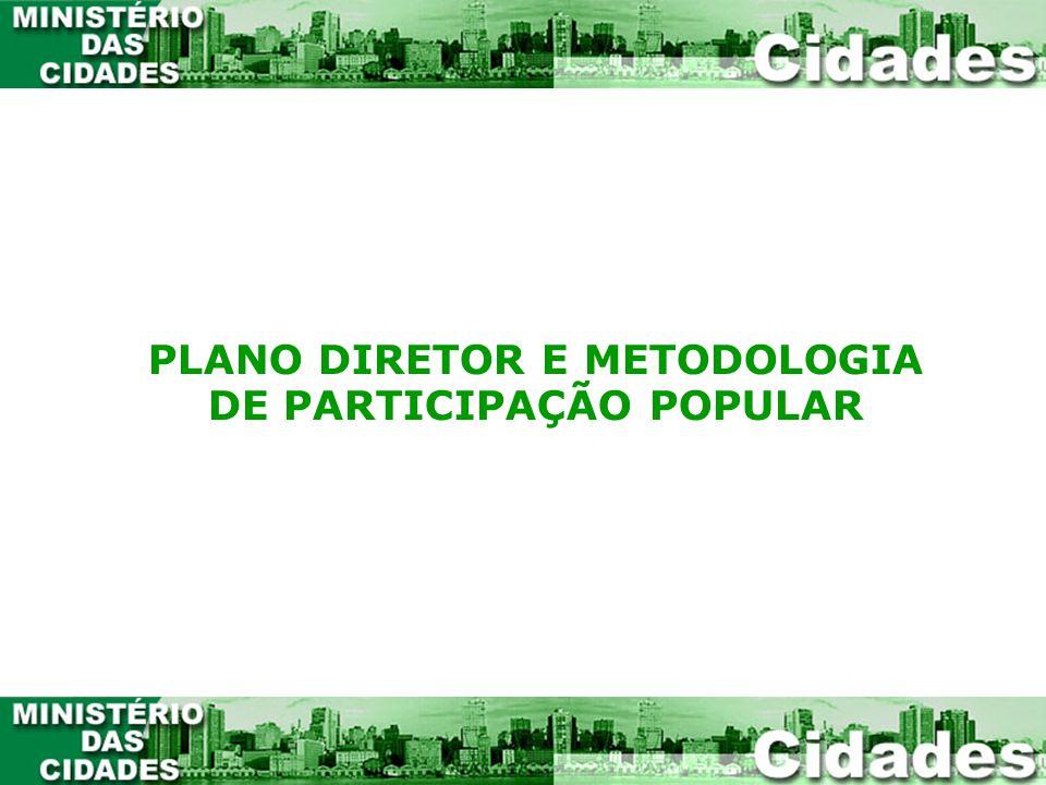 Dois elementos devem estar detalhados e explicitados no Plano Diretor Municipal: A função social da propriedade e a participação popular no planejamento e gestão da cidade.
