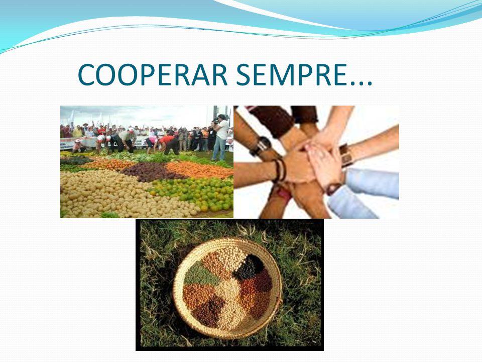 COOPERAR SEMPRE...