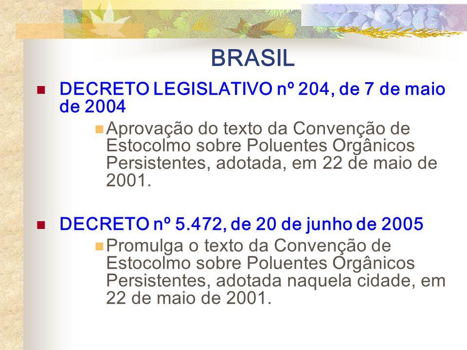 Entrada em vigor: 17 de maio de 2004 151 assinaturas 62 Partes Site: http://www.pops.int/http://www.pops.int/ Usos Agricultura Saúde Pública Indústria
