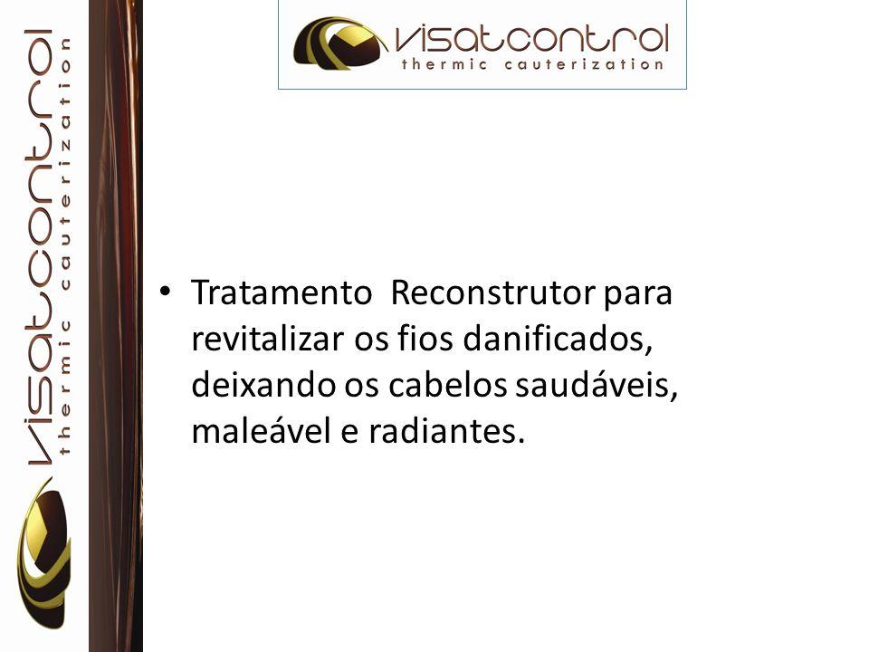 MODO DE USAR: Aplique, no comprimento e nas pontas, o Leave-in Visatcontrol e penteie normalmente.