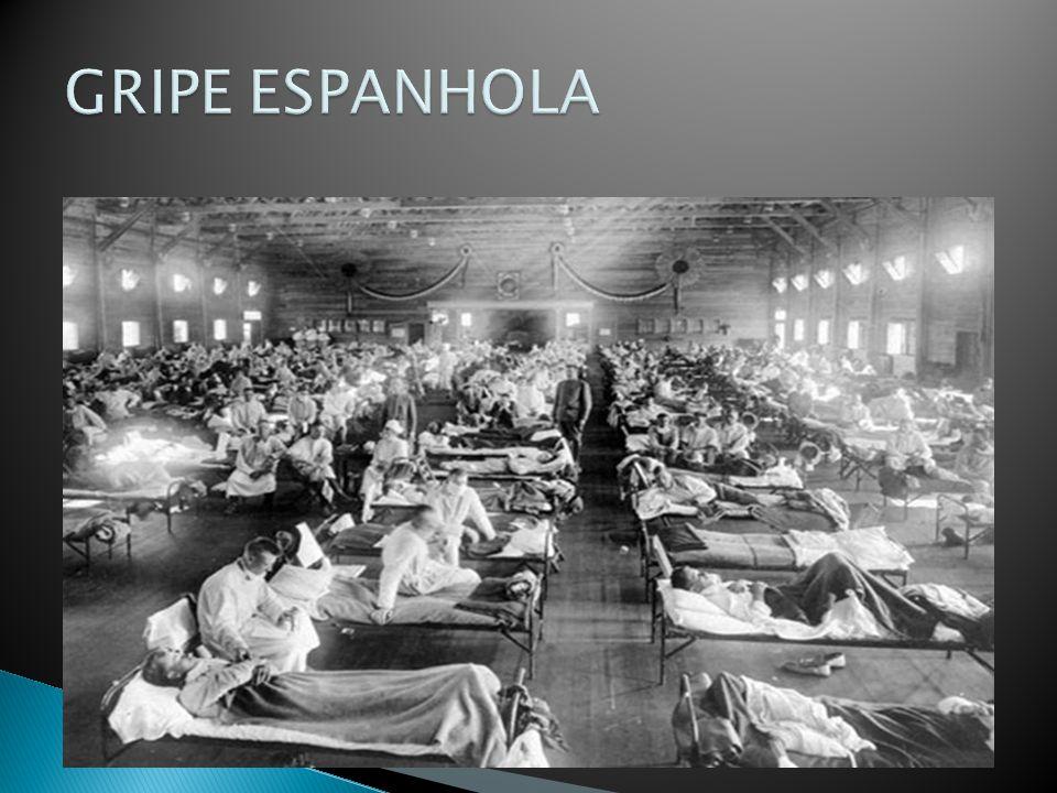 Houve pandemias de influenza antes? SIM AnoNomeVirusMortes 1918 GRIPE Espanhola Vírus GRIPE tipo A (H1N1) 50 milhões[1] 1957GRIPE AsiáticaVírus da GRI