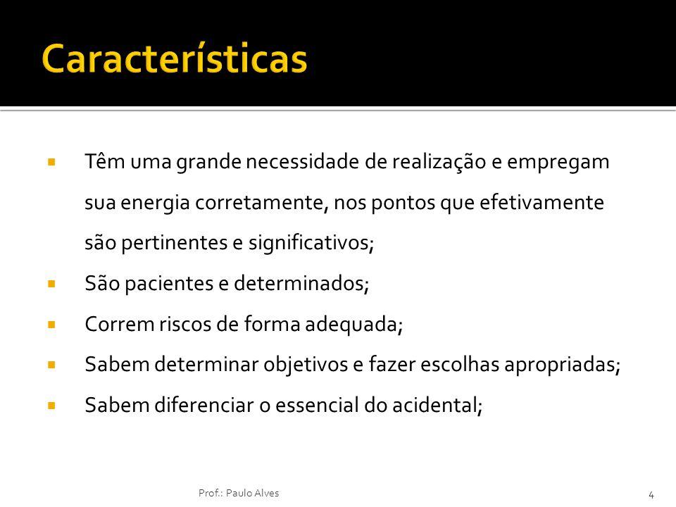 Posturas de Negociação Numa negociação existem quatro desfechos possíveis: Desfechos de uma Negociação 15Prof.: Paulo Alves Negociador A Ganha Perde Ganha/Perde (2) Perde/Perde (4) Ganha/Perde (3) Ganha/Ganha (1) Negociador B PerdeGanha
