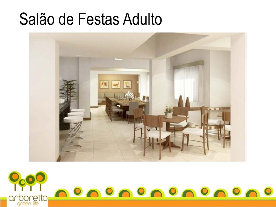 Salão de Festas Adulto
