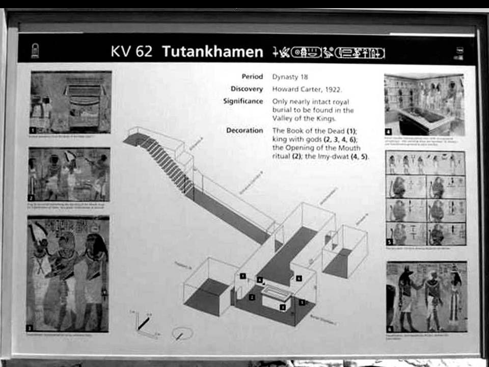 Vale dos Reis, entrada do túmulo de Tutankhamon