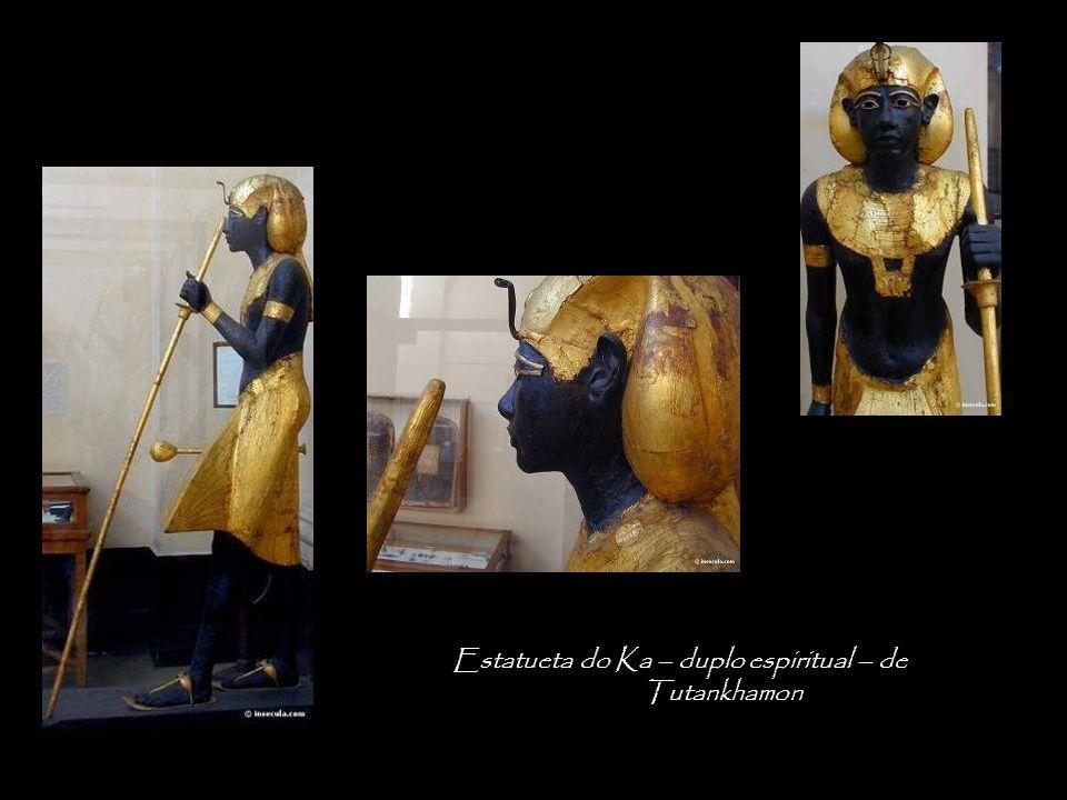 Estatueta do Ka – duplo espiritual – de Tutankhamon