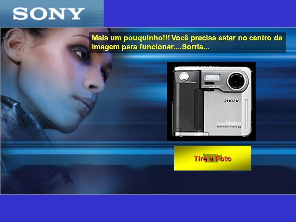 Como usar: - Fique em frente do monitor; - Olhe para a camera; - Clique no botão Tire a foto - E o mais importante, não se mova até que a foto seja processada!!!.