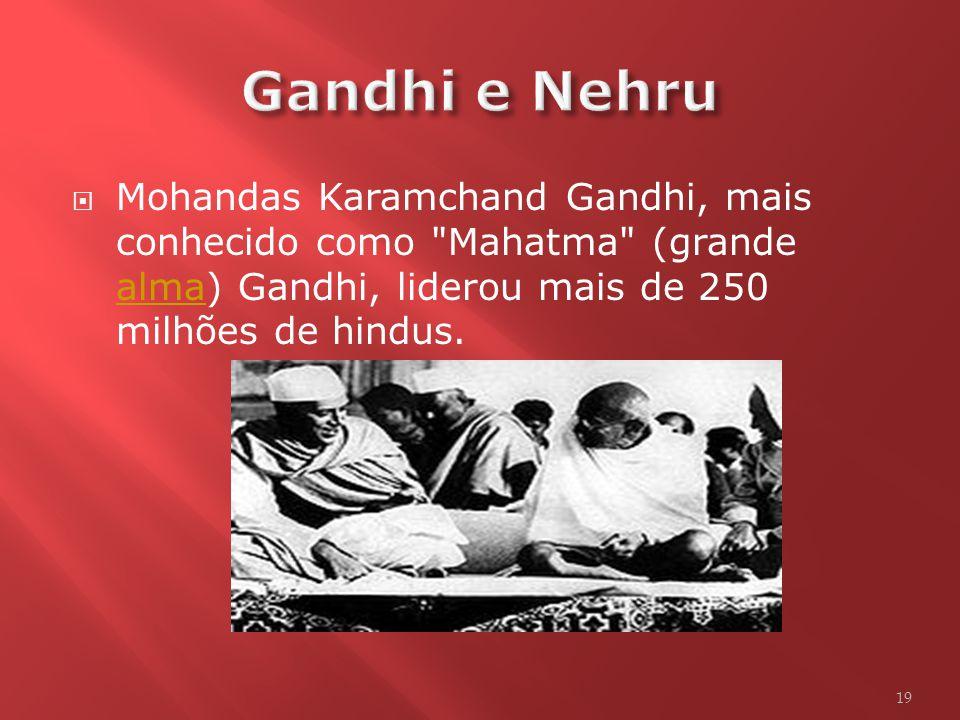 18 Foto de Gandhi – Líder do movimento de independência da Índia