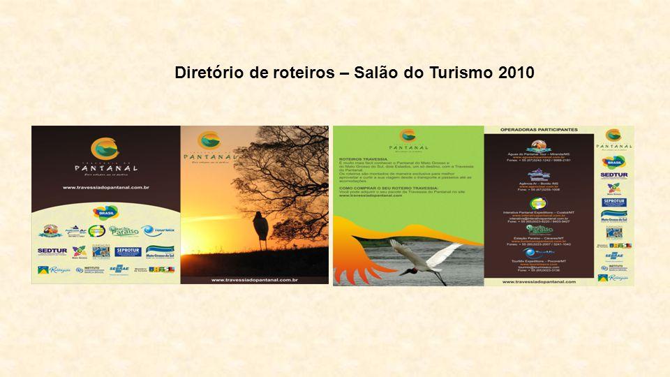 Diretório de roteiros – Salão do Turismo 2010