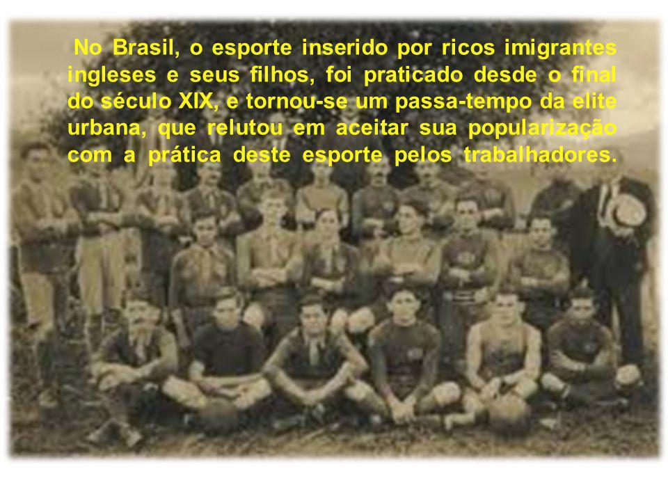 No Brasil, o esporte inserido por ricos imigrantes ingleses e seus filhos, foi praticado desde o final do século XIX, e tornou-se um passa-tempo da el