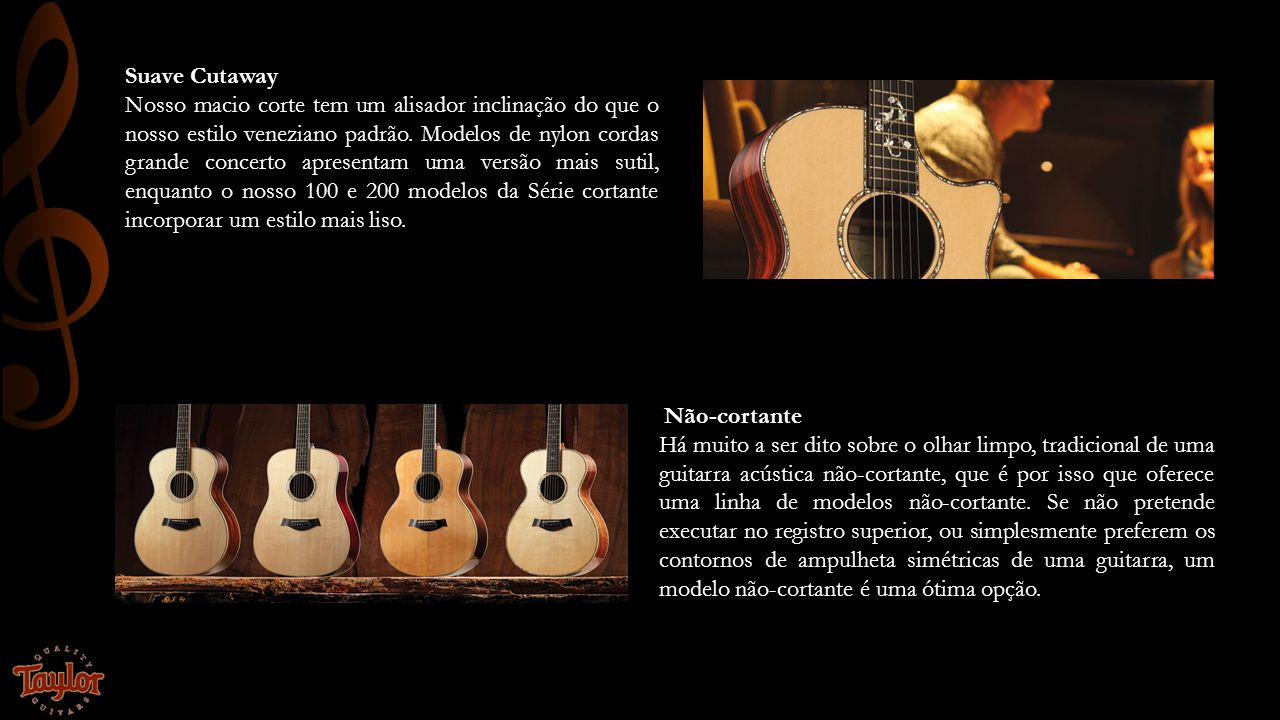 Mercado Sede em El Cajon, Califórnia, Taylor Guitars emprega cerca de 700 pessoas e, atualmente, produz centenas de guitarras por dia em seus complexos de fábrica state-of-the-art, tanto em El Cajon e em Tecate, México.